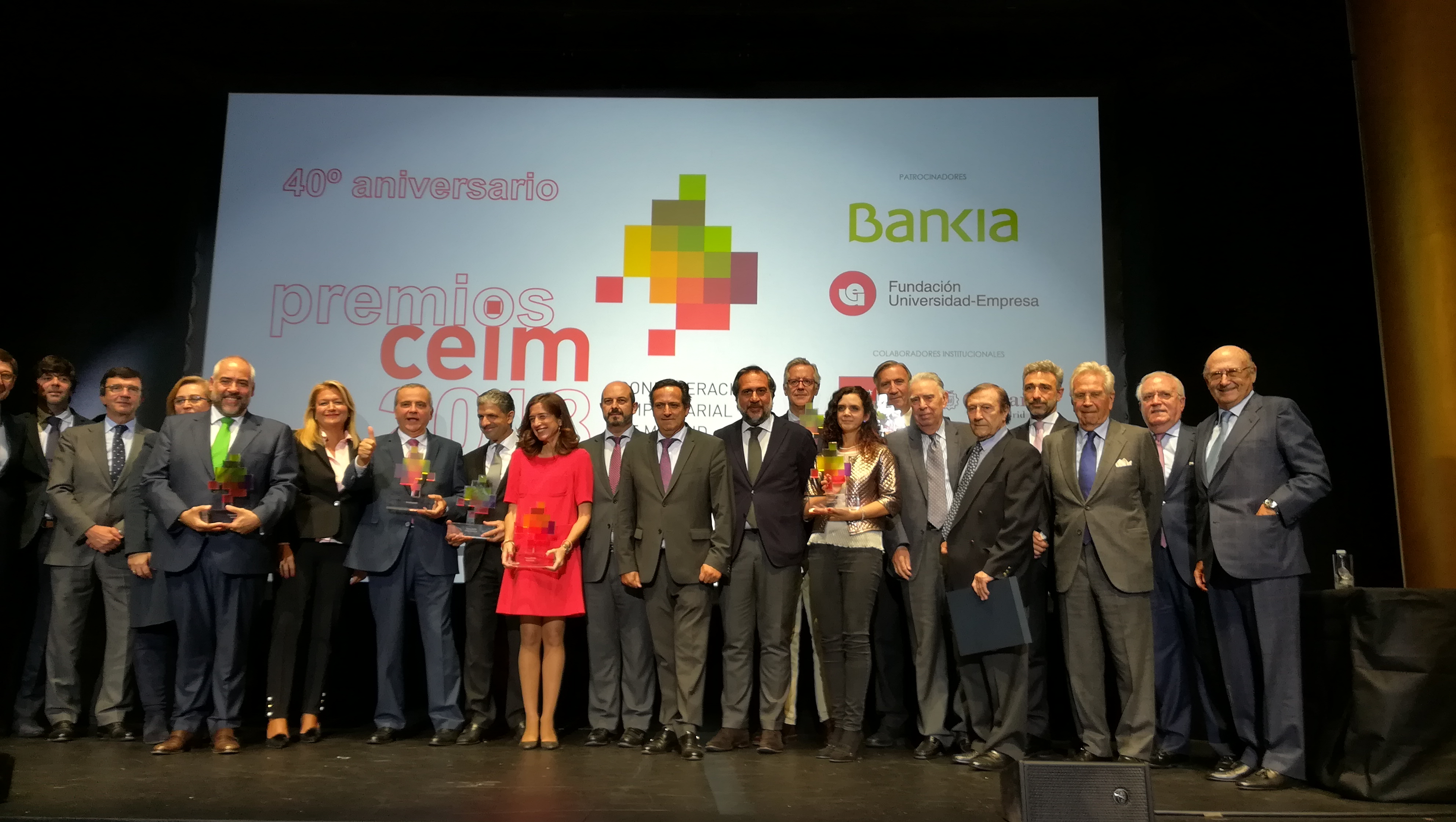 Entrega de premios CEIM